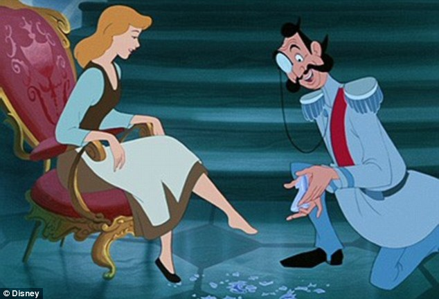Cinderella moment: The classic Disney flick will be released on Blu-ray on October 2