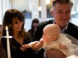 Alec Baldwin Jan 15 The christening of our son. What a lovely day.