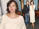 NEW YORK, NY - JANUARY 15:  Actors Peter Sarsgaard (L) and Maggie Gyllenhaal attend the VANDAL Grand Opening in New York City on January 15, 2016 in New York City.  (Photo by Jamie McCarthy/Getty Images for Vandal)