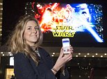 """FINANCE FEATURE...BETH KING WHO USES AN APP, """"MEERKAT MOVIES"""" TO CUT THE COST OF CINEMA-GOING...LEICESTER SQUARE, LONDON...7-1-2016 PIC BY IAN MCILGORM"""