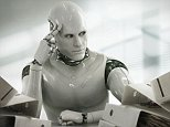 Thinking Robot.   --- Image by © Blutgruppe/Corbis