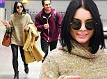 Grease Live Co-stars Vanessa Hudgens and Carlos PenaVega were spotted landing in NYC on Sunday night. They got close as they came off the same flight together. He escorted her to the bathroom as they chatted with big smiles on their face. \n\nPictured: Vanessa Hudgens, Carlos PenaVega\nRef: SPL1210821  170116  \nPicture by: 247PAPS.TV / Splash News\n\nSplash News and Pictures\nLos Angeles: 310-821-2666\nNew York: 212-619-2666\nLondon: 870-934-2666\nphotodesk@splashnews.com\n