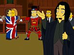 1244848 The Simpsons pay tribute to Alan Rickman in funny sketch  credit FX