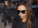 Picture Shows: Victoria Beckham  January 18, 2016    * Min Web / Online Fee £200 For Set *    British Designer Victoria Beckham seen arriving for a breakfast meeting at Claridges in London, England.    Victoria kept warm in a long black coat, which she accessorized with sunglasses, a black clutch and black pumps.    * Min Web / Online Fee £200 For Set *    Exclusive All Rounder  WORLDWIDE RIGHTS  Pictures by : FameFlynet UK © 2016  Tel : +44 (0)20 3551 5049  Email : info@fameflynet.uk.com