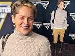 ANAHEIM, CA - JANUARY 16:  Sharon Stone arrives at the Monster Jam at Angel Stadium of Anaheim on January 16, 2016 in Anaheim, California.  (Photo by Jerod Harris/Getty Images)