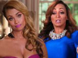 POTOMAC, MD: January 17, 2016 ¿ The Real Housewives of Potomac\nGizelle's lack of good manners puts her at odds with Karen, grand dame of high society in Potomac, MD. Katie tries to spur her boyfriend to ask her to to marry him. Robyn must decide if she wants to rekindle her relationship with her ex-husband. \nThe latest Real Housewives franchise moves to Potomac, Maryland, to follow the lives of Gizelle Bryant, Ashley Darby, Robyn Dixon, Karen Huger, Charrisse Jackson-Jordan, and Katie Rost. \n