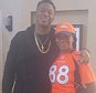 Demaryius Thomas mother, Katina Smith, getting to see her son play football for the first time since being released from prison  MUST LINK BACK: https://www.instagram.com/queenbellas/