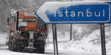 Cold weather and snow return to Turkey