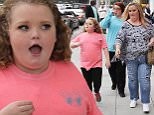 'Honey Boo Boo' Star Alana Thompson filming with Mama June and family while walking in Beverly Hills and taking pictures with fans\nFeaturing: Honey Boo Boo, Alana Thompson, Mama June, June Shannon\nWhere: Beverly Hills, California, United States\nWhen: 18 Jan 2016\nCredit: WENN.com