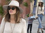 EXCLUSIVE: Victoria's Secret Model, Brazillian Alessandra Ambrosia and her family were seen leaving much at 'Fogo De Chao' Restaurant in Beverly in Beverly Hills, CA. Alessandra was also seen walking down the middle of one of the busiest roads in Los Angeles, La Cienega Blvd.\n\nPictured: Alessandra Ambrosio\nRef: SPL1209957  170116   EXCLUSIVE\nPicture by: SPW / Splash News\n\nSplash News and Pictures\nLos Angeles: 310-821-2666\nNew York: 212-619-2666\nLondon: 870-934-2666\nphotodesk@splashnews.com\n