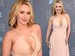 Mandatory Credit: Photo by REX/Shutterstock (5541858an)  Hayden Panettiere  21st Annual Critics' Choice Awards, Arrivals, Los Angeles, America - 17 Jan 2016