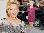 """Joan Lunden exits the AOL BUILD Speaker Series studios, NYC after promoting her new book """"Had I Known""""....Pictured: Joan Lunden..Ref: SPL1133005  210915  ..Picture by: Derek Storm / Splash News....Splash News and Pictures..Los Angeles: 310-821-2666..New York: 212-619-2666..London: 870-934-2666..photodesk@splashnews.com.."""