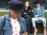 January 18, 2016:  Scarlett Johansson has lunch with her mother Melanie Sloan at Square One Dining in Los Angeles, CA.\nMandatory Credit: Chiva/INFphoto.com Ref: infusla-275
