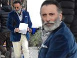 EXCLUSIVE: Andy Garcia showing off an old-shaped beard while shooting an ad in Cefalu', Sicily\n\nRef: SPL1136811  160116   EXCLUSIVE\nPicture by: Oliver Palombi / Splash News\n\nSplash News and Pictures\nLos Angeles: 310-821-2666\nNew York: 212-619-2666\nLondon: 870-934-2666\nphotodesk@splashnews.com\n