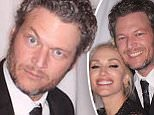 It's a Nashville party! Blake Shelton and Gwen Stefani make quite the cute couple as they pose for pictures in a photo booth at stylist's Amanda Craig's Tennessee wedding