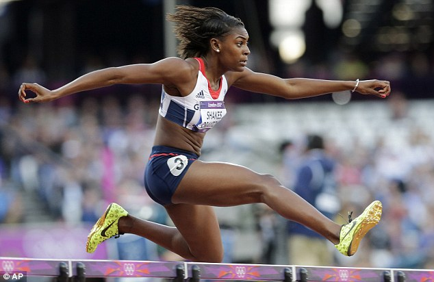 On course for victory: Shakes-Drayton looked comfortable