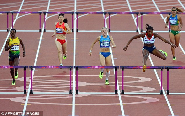 Getting there first: Shakes-Drayton gets to final hurdle in the lead