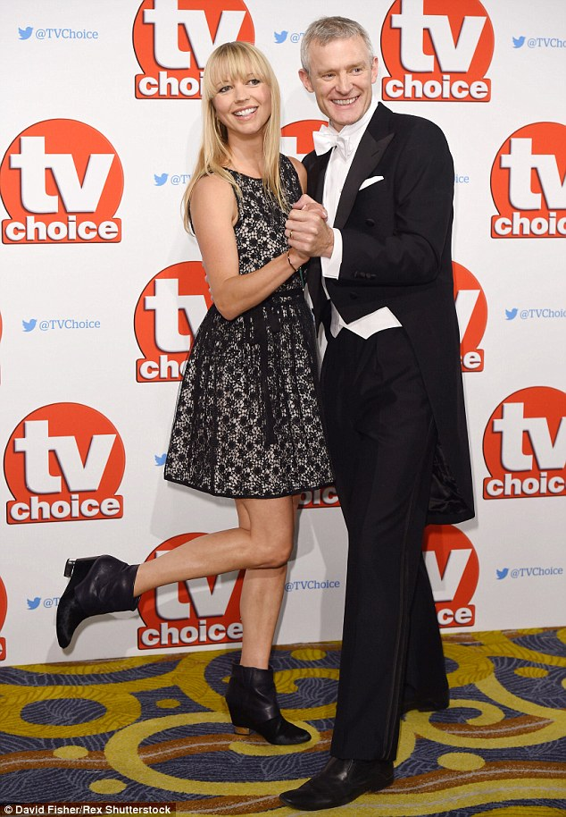 Getting ready for Strictly? Broadcasters Sara Cox and Jeremy Vine joined forces on the night