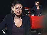 Picture Shows: Mila Kunis  January 20, 2016    Actress Mila Kunis filming a night scene on the set of 'Bad Moms' in New Orleans, Louisiana. Mila could be seen driving a cherry red muscle car on set.     Non Exclusive  UK RIGHTS ONLY    Pictures by : FameFlynet UK © 2016  Tel : +44 (0)20 3551 5049  Email : info@fameflynet.uk.com