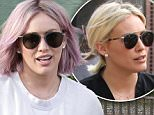 Hollywood actress Hillary Duff get new Pink colored hair after spending 4hours inside of  'Nine Zero One' in West Hollywood, CA\n\nPictured: Hillary Duff\nRef: SPL1212093  200116  \nPicture by: SPW / Splash News\n\nSplash News and Pictures\nLos Angeles: 310-821-2666\nNew York: 212-619-2666\nLondon: 870-934-2666\nphotodesk@splashnews.com\n