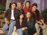 """TELEVISION PROGRAMME:  FRIENDS The cast of the popular comedy television series """"Friends"""" which will end its ten year run on May 6, 2004 are pictured in this undated publicity photograph, from the series pilot episode. Shown (clockwise from L)  Matt Le Blanc as Joey,  Lisa Kudrow as Pheobe, David Schwimmer as Ross, Matthew Perry as Chandler, Jennifer Aniston as Rachel, and Courteney Cox Arquette as Monica. IMAGE MAY BE USED ONLY UNTIL May 31, 2004 PER SOURCE   NO SALES  REUTERS/Warner Bros.Television/Handout"""