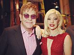 """eltonjohnSuch a treat for David and I to be honoured alongside George Lucas and Mellody Hobson at last night's Geffen Playhouse fundraiser. Huge shout out of thanks to Beau Bridges, Angelica Huston, Dewyane Wade, Samuel Jackson, Gil Cates Jr., Toni Basil and her brilliant dancers, and Randall Arney for their amazing performances. And of course, the biggest hug to our gorgeous Gaga-Mother for surprising us with a stunning rendition of """"You and I"""". Love you girl! @ladygaga @davidfurnish #ShareTheLove #GeffenPlayhouse"""