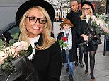 Picture Shows: Beau Lee Jones, Emma Bunton  January 21, 2016\n \n Spice Girl Emma Bunton takes a walk with her family as she celebrates her birthday outside Capital Radio in London, England, UK.\n \n Non Exclusive\n WORLDWIDE RIGHTS\n \n Pictures by : FameFlynet UK © 2016\n Tel : +44 (0)20 3551 5049\n Email : info@fameflynet.uk.com