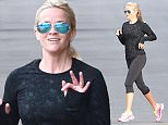 Reese Witherspoon steps out to jog wearing NO MAKE UP. The actress looks ready to pass out as she works out with a girlfriend. January 19, 2016 X17online.com