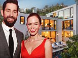 14 January 2016 - Los Angeles - USA  **** STRICTLY NOT AVAILABLE FOR USA ***  Emily Blunt and John Krasinski list their Los Angeles home for sale at $8 million. The married couple are beating a path out of Southern California, leaving gorgeous homes for sale in their wake. The star couple listed their weekend home in Ojai, CA a few months ago, and now want to sell their main home in the Hollywood Hills. Theyíre asking $8 million for the six bedroom, four and a half bathroom spread ó the site of many a prank by neighbour Jimmy Kimmel, who once gift-wrapped the entire house. After living in a rental for the past three years while remodeling the home, including adding the third story and a pool, theyíve decided to move with their toddler daughter Hazel back east, according to listing agent Catherine Marcus of Sothebyís International Realty. Krasinski designed the homeís expansive rooftop deck, which is right off his office and describes it as a place to let off steam and chill out, becau