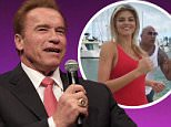 Hollywood A-lister Arnold Schwarzenegger appeared in Edinburgh in front of a VIP audience to talk about his career to Jenni Falconer.\n© ALEX TODD / WENN NEWS\nFeaturing: Arnold Schwarzenegger\nWhere: Ediinburgh, United Kingdom\nWhen: 20 Jan 2016\nCredit: WENN.com
