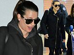Lea Michele touches down with her friend at JFK Airport in New York City.\n\nPictured:  Lea Michele\nRef: SPL1211356  190116  \nPicture by: Ryan Turgeon / Splash News\n\nSplash News and Pictures\nLos Angeles: 310-821-2666\nNew York: 212-619-2666\nLondon: 870-934-2666\nphotodesk@splashnews.com\n