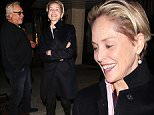 19 Jan 2016 - Beverly Hills, CA - USA\n*** STRICTLY AVAILABLE FOR UK AND GERMANY USE ONLY ***\n*** EXCLUSIVE ALL ROUND PICTURES *** \nSharon Stone smiles wide after a dinner date at The Palm Restaurant in Beverly Hills. The 'Agent X' actress kept her arms crossed in a long black coat while she waited patiently for her ride.\nBYLINE MUST READ : AKM-GSI-XPOSURE\n***UK CLIENTS - PICTURES CONTAINING CHILDREN PLEASE PIXELATE FACE PRIOR TO PUBLICATION ***\n*UK CLIENTS MUST CALL PRIOR TO TV OR ONLINE USAGE PLEASE TELEPHONE 0208 344 2007*\n