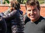 Picture Shows: Tom Cruise, Connor Cruise  January 20, 2016\n \n Actor Tom Cruise is spotted on the set of 'Jack Reacher: Never Go Back' in New Orleans, Louisiana. Tom got a special visit from his son Connor Cruise. The two looked extremely happy to see each other and ended the visit with a big hug. \n \n Exclusive All Rounder\n UK RIGHTS ONLY (NO MAIL ONLINE)\n \n Pictures by : FameFlynet UK © 2016\n Tel : +44 (0)20 3551 5049\n Email : info@fameflynet.uk.com