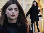 Exclusive  Mandatory Credit: Photo by Beretta/Sims/REX/Shutterstock (5550787c)  Jenna Coleman leaving the dentist  Jenna Coleman out and about, London, Britain - 21 Jan 2016