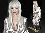 EXCLUSIVE: Rita Ora is seen leaving HYDE Nightclub on Sunset Blvd, CA **MIN FEE TO BE AGREED BEFORE USE** Pictured: Rita Ora Ref: SPL1212028  190116   EXCLUSIVE Picture by: Aficionado Group / Splash News  Splash News and Pictures Los Angeles:	310-821-2666 New York:	212-619-2666 London:	870-934-2666 photodesk@splashnews.com