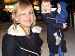 Anna Faris arrives at JFK airport in NYC.\n\nPictured: Anna Faris\nRef: SPL1211909  190116  \nPicture by: Ron Asadorian / Splash News\n\nSplash News and Pictures\nLos Angeles: 310-821-2666\nNew York: 212-619-2666\nLondon: 870-934-2666\nphotodesk@splashnews.com\n