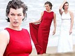 Mila Jovovich looks stunning in a red dress for a photoshoot in Malibu, CA\n\nPictured: Mila Jovovich\nRef: SPL1211293  190116  \nPicture by: ?/Kreusch/Splash News\n\nSplash News and Pictures\nLos Angeles: 310-821-2666\nNew York: 212-619-2666\nLondon: 870-934-2666\nphotodesk@splashnews.com\n