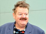 Mandatory Credit: Photo by Tom Farmer/REX/Shutterstock (3808898a)  Actor Robbie Coltrane in Glasgow  Actor Robbie Coltrane in Glasgow, Scotland, Britain - 09 Apr 2014