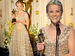 "Reese Witherspoon, winner Best Actress in a Leading Role for ""Walk the Line"" at the The 78th Annual Academy Awards - Press Room at Kodak Theatre in Hollywood, California.   (Photo by Jeff Kravitz/FilmMagic)"