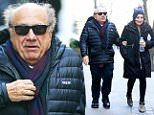 New York, NY - Danny Devito and daughter Lucy Devito brave the cold NYC weather to spend some quality father daughter bonding time together. The Devito duo try to stay warm with Danny opting for a Patagonia puffy jacket. \n  \nAKM-GSI       January 21, 2016\nTo License These Photos, Please Contact :\nSteve Ginsburg\n(310) 505-8447\n(323) 423-9397\nsteve@akmgsi.com\nsales@akmgsi.com\nor\nMaria Buda\n(917) 242-1505\nmbuda@akmgsi.com\nginsburgspalyinc@gmail.com