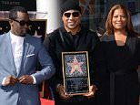 Picture Shows: Sean Combs, LL Cool J, Queen Latifah  January 21, 2016    Celebrities at the Hollywood Walk Of Fame Ceremony honoring LL Cool J in Hollywood, California.    Non Exclusive  UK RIGHTS ONLY    Pictures by : FameFlynet UK © 2016  Tel : +44 (0)20 3551 5049  Email : info@fameflynet.uk.com