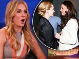 Joanne Froggatt during an appearance on TBS's 'Conan.' Joanne promotes the last season of ' Downton Abbey'. Also talks about Catherine, Duchess of Cambridge visiting the set.\nFeaturing: Joanne Froggatt\nWhere: United States\nWhen: 21 Jan 2016\nCredit: Supplied by WENN.com\n**WENN does not claim any ownership including but not limited to Copyright, License in attached material. Fees charged by WENN are for WENN's services only, do not, nor are they intended to, convey to the user any ownership of Copyright, License in material. By publishing this material you expressly agree to indemnify, to hold WENN, its directors, shareholders, employees harmless from any loss, claims, damages, demands, expenses (including legal fees), any causes of action, allegation against WENN arising out of, connected in any way with publication of the material.**