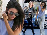 eURN: AD*193926733  Headline: Kendall meets her gal pal Hailey for lunch in WeHo Caption: West Hollywood, CA - Kendall Jenner decided to meet her gal pal Hailey Baldwin for lunch at ZinquÈ in WeHo. The two arrived separately and were dressed in comfy, casual outfits. Jenner wore a muscle tank and striped flared pants with her favorite Givenchy bag and Fendi pom pom. Baldwin wore a olive leather jacket, black pants and top with a pair of black ankle boots.    AKM-GSI       January 21, 2016 To License These Photos, Please Contact : Steve Ginsburg (310) 505-8447 (323) 423-9397 steve@akmgsi.com sales@akmgsi.com or Maria Buda (917) 242-1505 mbuda@akmgsi.com ginsburgspalyinc@gmail.com Photographer: EVGA  Loaded on 21/01/2016 at 21:36 Copyright:  Provider: EVGA/AKM-GSI  Properties: RGB JPEG Image (20672K 3206K 6.4:1) 2169w x 3253h at 300 x 300 dpi  Routing: DM News : GeneralFeed (Miscellaneous) DM Showbiz : SHOWBIZ (Miscellaneous) DM Online : Online Previews (Miscellaneous), CMS Out