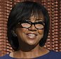 FILE - In this Jan. 14, 2016 file photo, Academy President Cheryl Boone Isaacs announces the Academy Awards nominations at the 88th Academy Awards nomination ceremony in Beverly Hills, Calif.  The film academy is pledging to double the number of female and minority members by 2020, and will immediately diversify its leadership by adding three new seats to its board of governors. Isaacs announced the changes Friday, Jan. 22, following a weeklong storm of criticism and calls for an Oscar boycott after academy members nominated an all-white slate of actors for the second year in a row.  (Chris Pizzello/Invision/AP, File)