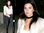 20.JANUARY.2016 - LOS ANGELES - USA\n**EXCLUSIVE ALL ROUND PICTURES**\n*** STRICTLY AVAILABLE FOR UK AND GERMANY USE ONLY ***\nKendall Jenner is shy and looking fabulous in a white fur coat as she steps out from a friends house in Los Angeles.  Kendall recently pranked big sister Kim on sister Khloe Kardashian\nBYLINE MUST READ : AKM-GSI-XPOSURE\n***UK CLIENTS - PICTURES CONTAINING CHILDREN PLEASE PIXELATE FACE PRIOR TO PUBLICATION ***\n*UK CLIENTS MUST CALL PRIOR TO TV OR ONLINE USAGE PLEASE TELEPHONE 0208 344 2007*\n