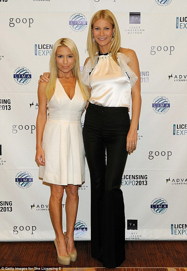 Tracey Anderson and Gwyneth Paltrow are business partners. Together they've produced four exercise DVDs - each of which has sold in excess of 20,000 copies in Britain alone - and a book, Tracy Anderson's 30-Day Method