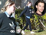 EXCLUSIVE Coleman-Rayner. Los Angeles CA, USA. January 13, 2016\nLouis Tomlinson's baby soon-to-be mamma Briana Jungwirth is seen displaying a heavy baby bump while walking near her mothers home in Calabasas. Due any day now Briana is rumored to be in labor as of Jan 22, 2016. \nCREDIT LINE MUST READ: Coqueran/Larsen/Coleman-Rayner\nTel US (001) 310-474-4343 - office¿\nTel US (001) 323 545 7584 - cell\nwww.coleman-rayner.com
