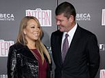 """NEW YORK, NY - SEPTEMBER 21:  Mariah Carey and James Packer attend """"The Intern"""" New York Premiere at Ziegfeld Theater on September 21, 2015 in New York City.  (Photo by Neilson Barnard/FilmMagic)"""