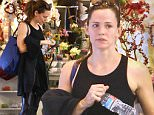 Brentwood, CA - Jennifer Garner waits for her car after getting in a workout at the gym. She's seen looking cute in her workout gear in faux leather leggings and a black tank with her bright blue shoes for a pop of color. \nAKM-GSI       January 22, 2016\nTo License These Photos, Please Contact :\nSteve Ginsburg\n(310) 505-8447\n(323) 423-9397\nsteve@akmgsi.com\nsales@akmgsi.com\nor\nMaria Buda\n(917) 242-1505\nmbuda@akmgsi.com\nginsburgspalyinc@gmail.com