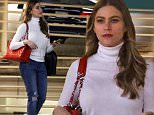 Exclusive... 51952568 Actress Sofia Vergara is spotted at a shopping center in Beverly Hills, California on January 21, 2016. FameFlynet, Inc - Beverly Hills, CA, USA - +1 (310) 505-9876